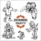 Zombie Comic Set - GraphicRiver Item for Sale