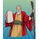Moses Religious Icon - GraphicRiver Item for Sale