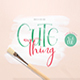 Cute Thing Font Duo - GraphicRiver Item for Sale