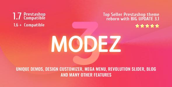 MODEZ - Responsive Prestashop Theme