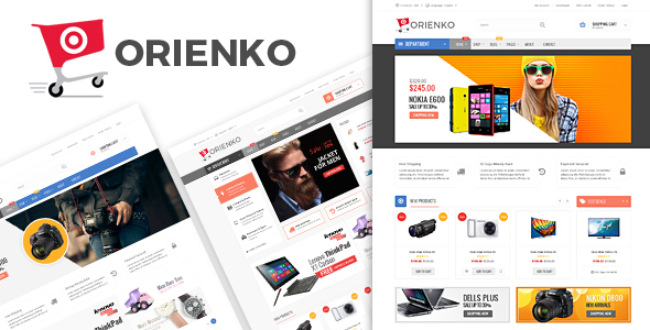 Orienko - WooCommerce Responsive Digital Theme