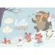 Animals Playing Winter Games - GraphicRiver Item for Sale