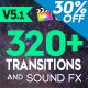 FCPX 320+ Transitions and Sound FX - VideoHive Item for Sale