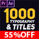 900 Typography & Titles - VideoHive Item for Sale