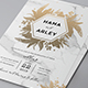 Marble Wedding Invitation - GraphicRiver Item for Sale