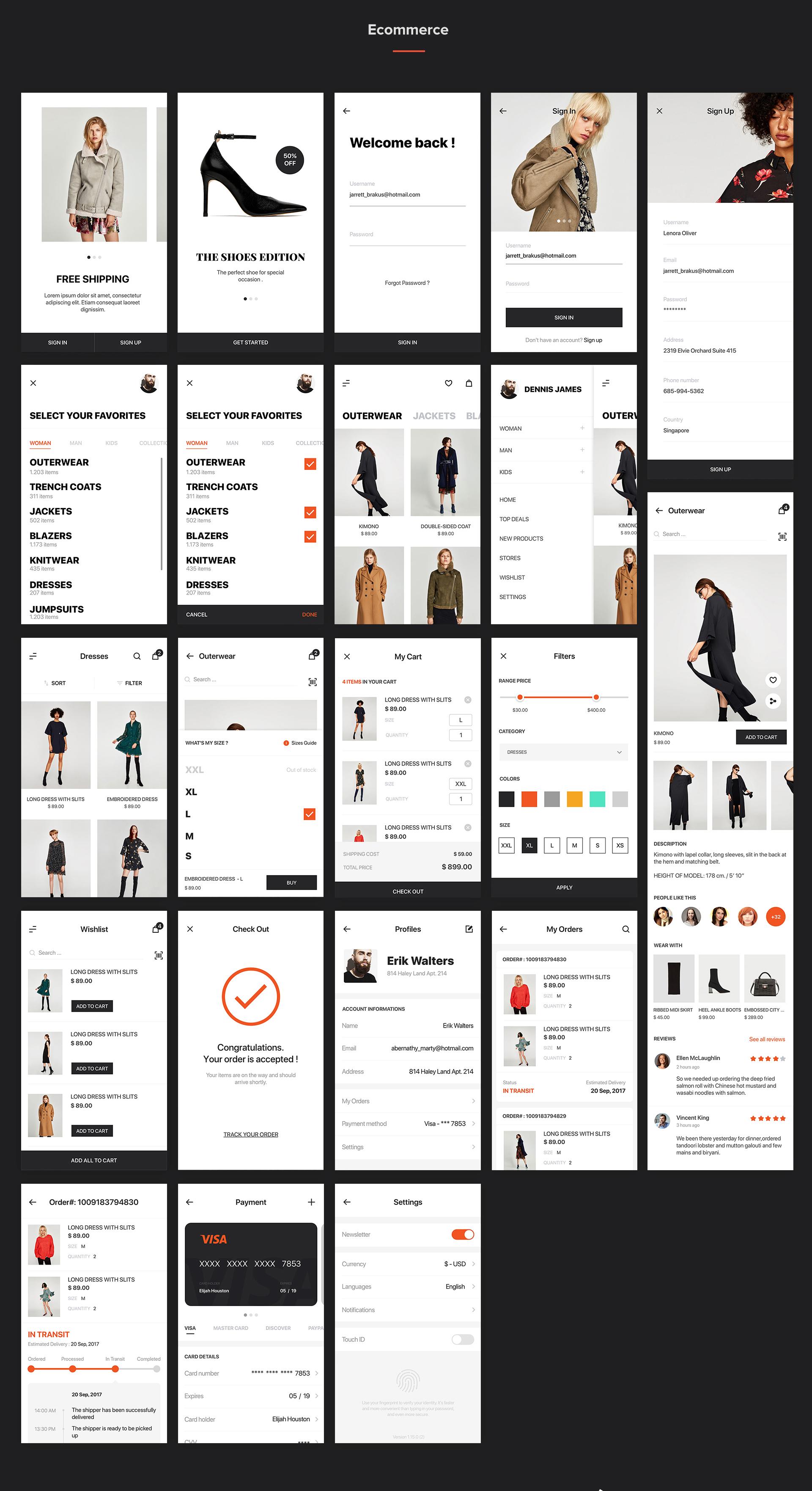 Mocha Mobile UI Kit - 7