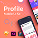 Farah - Profile UI Kit for Sketch App - ThemeForest Item for Sale