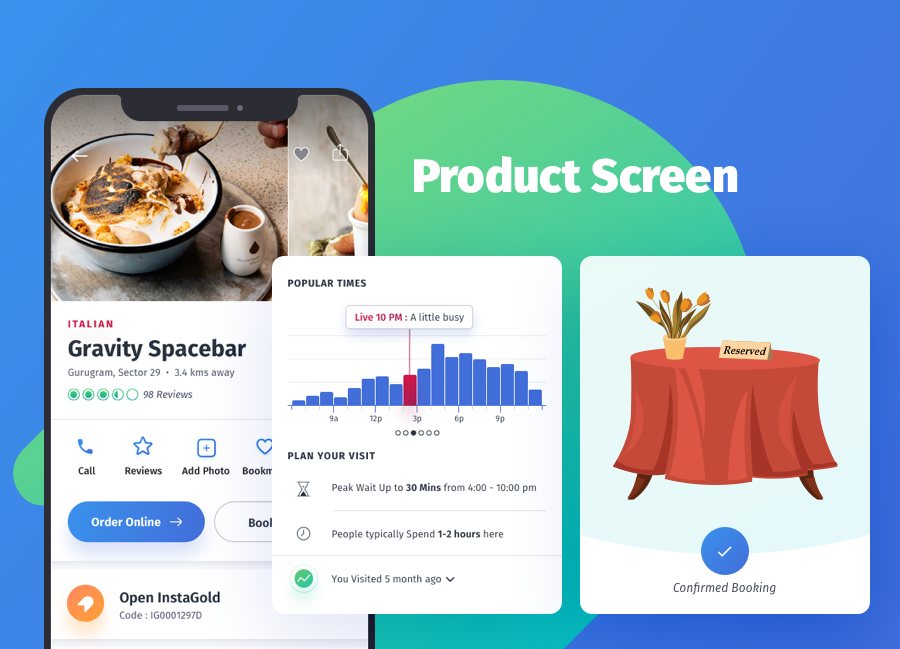 YumFood - Mobile App UI kit - 1
