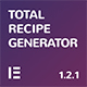 Total Recipe Generator - WordPress Recipe Maker with Schema and Nutrition Facts (Elementor addon) - CodeCanyon Item for Sale