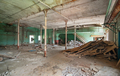 Interior of an abandoned industrial building - PhotoDune Item for Sale