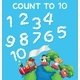 Math Count Cloud Number - GraphicRiver Item for Sale