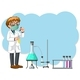 Scientist Experiment in The Lab - GraphicRiver Item for Sale