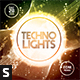 Techno Lights CD Album Artwork - GraphicRiver Item for Sale