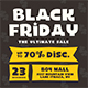 Black Friday Flyer Set - GraphicRiver Item for Sale