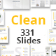Clean Business Google Slides Presentation Template - GraphicRiver Item for Sale