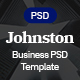 Johnston Business & Corporate Template - ThemeForest Item for Sale