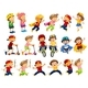 Set of Urban Kids Activities - GraphicRiver Item for Sale