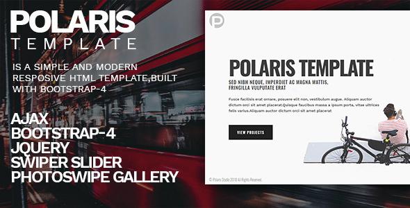 Polaris - Personal Portfolio Template