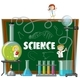 Science Lab Equipment and Blackboard - GraphicRiver Item for Sale
