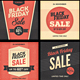 Black Friday Banners Set - GraphicRiver Item for Sale