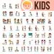 Kids Children Set Vector - GraphicRiver Item for Sale