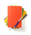 colorful notebook at white background - PhotoDune Item for Sale