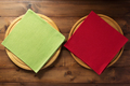 pizza cutting board and napkin cloth - PhotoDune Item for Sale