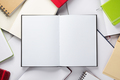 open notebook or book blank pages - PhotoDune Item for Sale