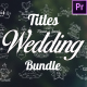 Wedding Titles Bundle - VideoHive Item for Sale