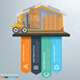 Cargo and warehouse infographics - GraphicRiver Item for Sale