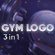 Gym Logo 3 in 1 - VideoHive Item for Sale