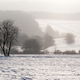 Falling snow in the winter landscape - PhotoDune Item for Sale
