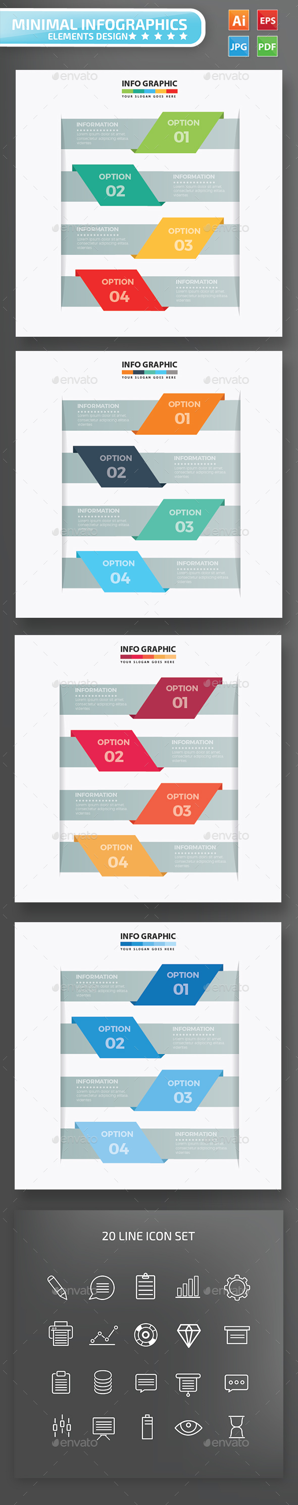 Label Infographics Design - Infographics