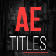 AE Titles - VideoHive Item for Sale