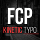 FCP Kinetic Typo - VideoHive Item for Sale