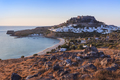 Lindos Castle and village, Greece - PhotoDune Item for Sale
