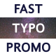FCP Fast Typo Promo - VideoHive Item for Sale
