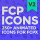 FCP Icons - VideoHive Item for Sale