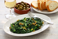 sauteed spinach with raisins and pine nuts, spanish catalan dish - PhotoDune Item for Sale