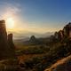 Sunset at Meteora Greece  - PhotoDune Item for Sale