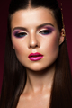 Beauty Woman face Portrait. Beautiful model Girl with Perfect Fresh Clean Skin - PhotoDune Item for Sale