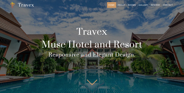 Travex _ Hotel and Resort Muse Template