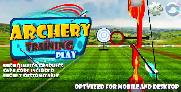Archery Training - (C2, C3, HTML5) Game. - CodeCanyon Item for Sale