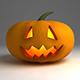 Halloween Pumpkin - Bouncing anim