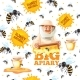 Apiary Pattern - GraphicRiver Item for Sale