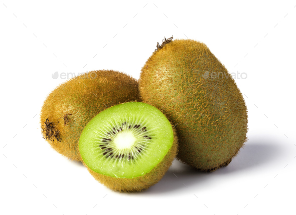 Ripe kiwi fruit - Stock Photo - Images