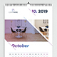 Creative Wall Calendar 2019 - GraphicRiver Item for Sale