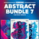 Abstract Flyer/Poster Template Bundle 7 - GraphicRiver Item for Sale