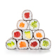 Pyramid of sushi hosomaki - PhotoDune Item for Sale