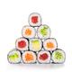 Pyramid of sushi hosomaki - PhotoDune Item for Sale